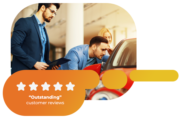 Outstanding customer reviews